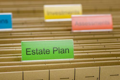 Simple Estate Planning File Folder