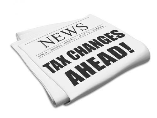 Newspaper Headline - Tax Changes Ahead!