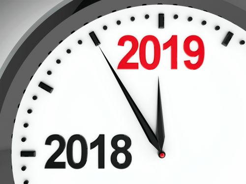 Clock dial 2018-2019 - End of Year Tax Planning