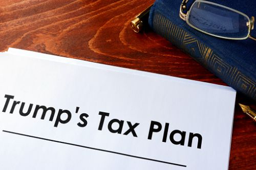 Document with title Trump Tax Plan